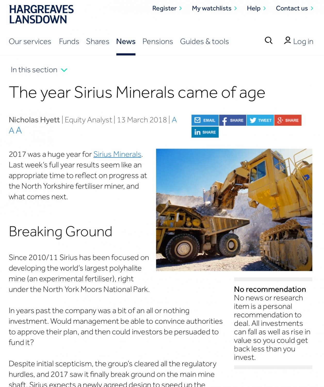 SXX) Sirius Minerals Share Chat | Page 164 | BlueShare